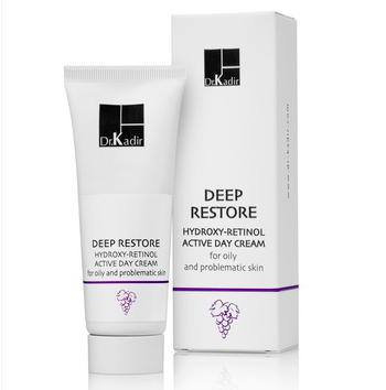 Deep Restore Day Cream For The Oily And Problematic Skin - Дневной крем