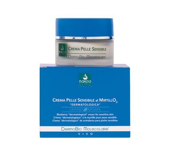 Blueberry «dermatological» Creamfor Sensitive Skin