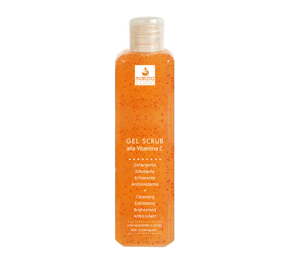 Gel Scrub with Vitamin C