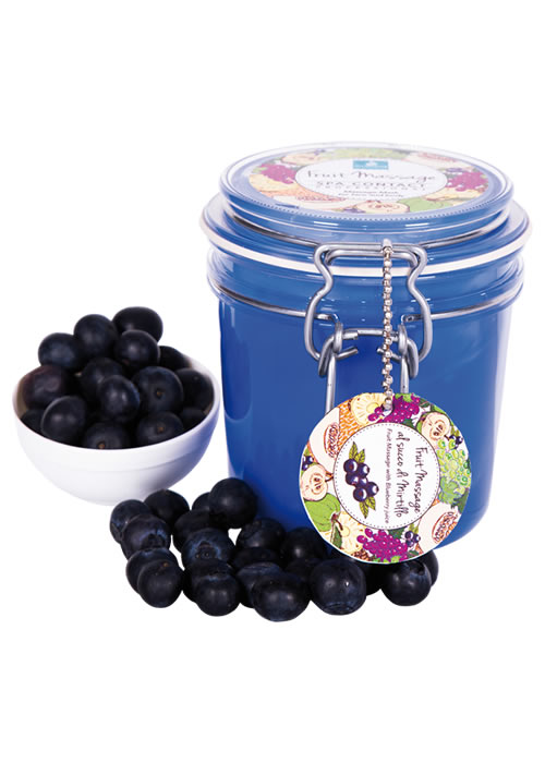 Fruit Massage with Blueberry Juice Professional