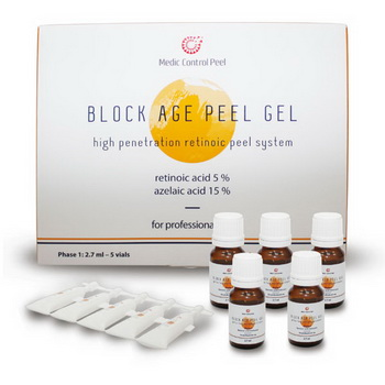 Block Age Peel Gel Ретиноевый пилинг